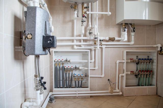 Коллекторные блоки для распределения потоков отопления